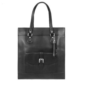 NWT Coach Charlie Large Leather Tote Bag